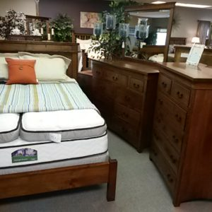 Deluxe Mission Bedroom Set