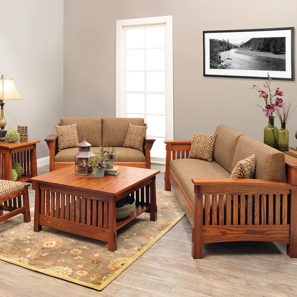 Country Mission Living Room Set - 960x720