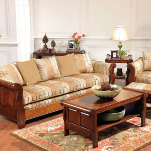 Sleigh Group Living Room Set - 960x720